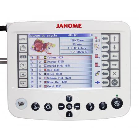 Hafciarka Janome MB-7, fig. 5