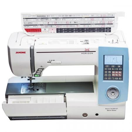 JANOME MC8900QCP SE, fig. 5