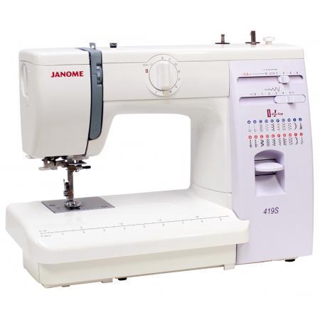 Maszyna do szycia JANOME 419S + nici i szpulki GRATIS, fig. 3