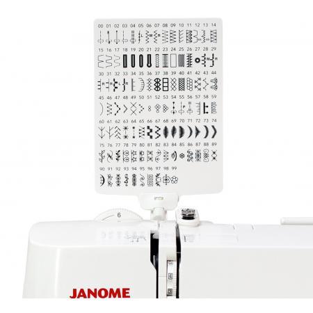 Maszyna do szycia JANOME DC6100 + nici i szpulki GRATIS, fig. 6