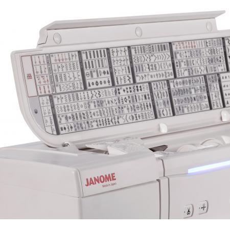 Maszyno-hafciarka Janome MC14000, fig. 8