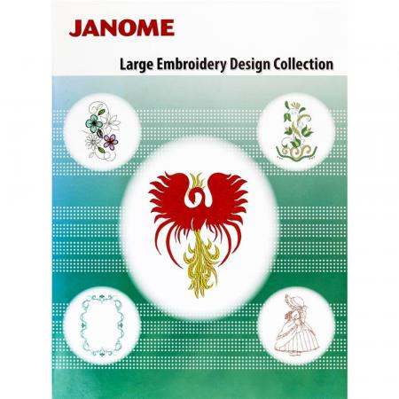 Kolekcja haftów JANOME Large Embroidery Design Collection, fig. 1