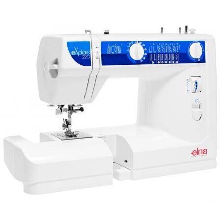 Maszyna do szycia ELNA 220 EX + 3 stopki, nici i szpulki GRATIS, fig. 3