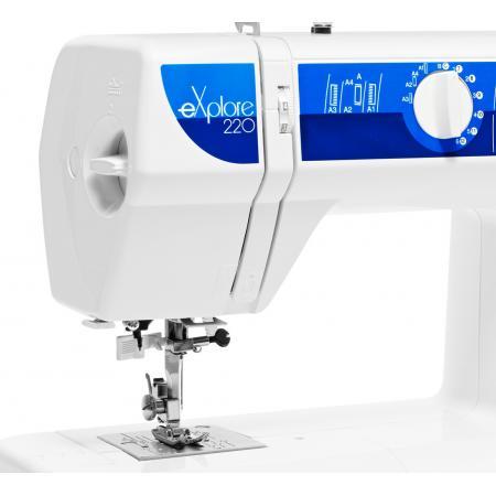 Maszyna do szycia ELNA 220 EX + nici i szpulki GRATIS, fig. 6