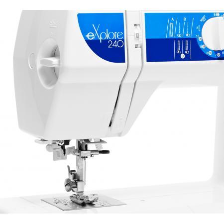 Maszyna do szycia ELNA 240 EX + nici i szpulki gratis, fig. 5