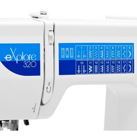 Maszyna do szycia ELNA 320 EX + nici i szpulki GRATIS, fig. 6