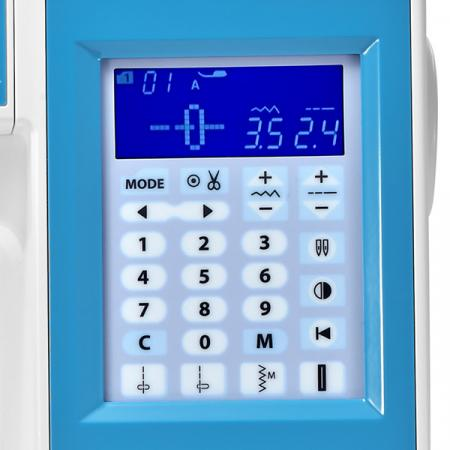 Maszyna do szycia Elna 580 eXperience + stopki, nici i szpulki GRATIS, fig. 6