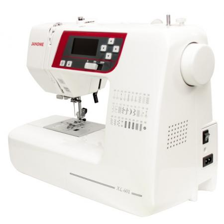 JANOME XL601, fig. 4