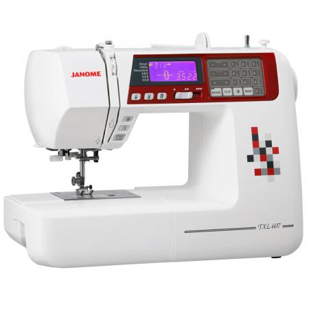 Maszyna do szycia JANOME TXL607 + 3 stopki, nici, szpulki i igły GRATIS, fig. 2