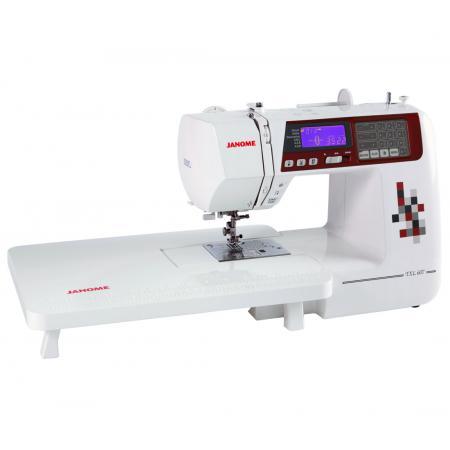 Maszyna do szycia JANOME TXL607 + 3 stopki, nici, szpulki i igły GRATIS, fig. 3