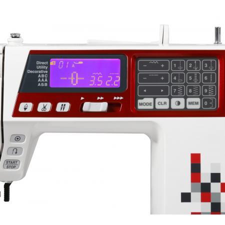 Maszyna do szycia JANOME TXL607 + 3 stopki, nici, szpulki i igły GRATIS, fig. 6
