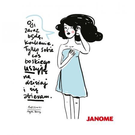 Plakat z porysunkiem Janome 2, fig. 1