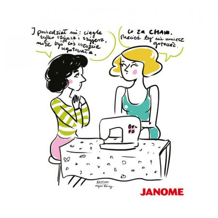 Plakat z porysunkiem Janome 3, fig. 1