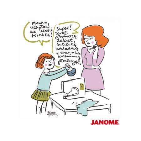 Plakat z porysunkiem Janome 4, fig. 1