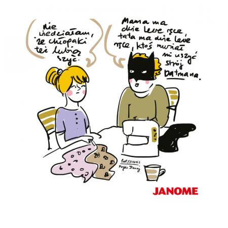 Plakat z porysunkiem Janome 5, fig. 1
