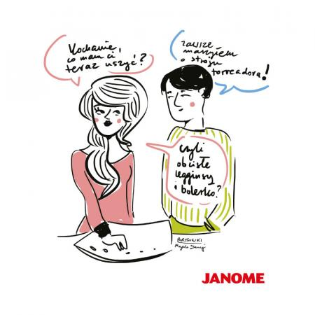 Plakat z porysunkiem Janome 9, fig. 1