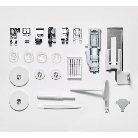 Maszyna do szycia Elna 570 eXperience - standardowe akcesoria