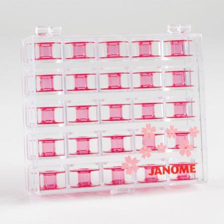 Szpulki plastikowe, płaskie Janome, komplet 25 szt., fig. 2