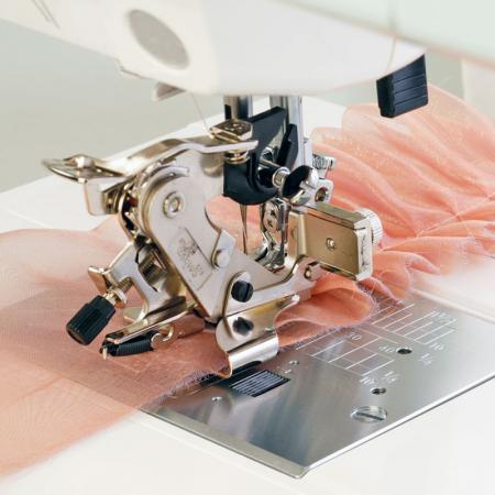 Stopka do falbanek i zakładek (do maszyn z szerokością ściegu 9 mm), fig. 1