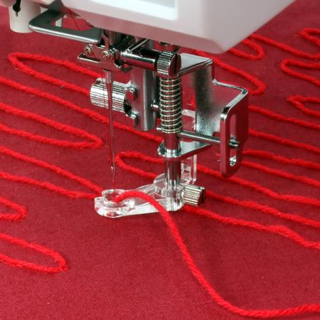 Stopka do naszywania włóczki i sznurka (do maszyn z szerokością ściegu 9 mm), fig. 1