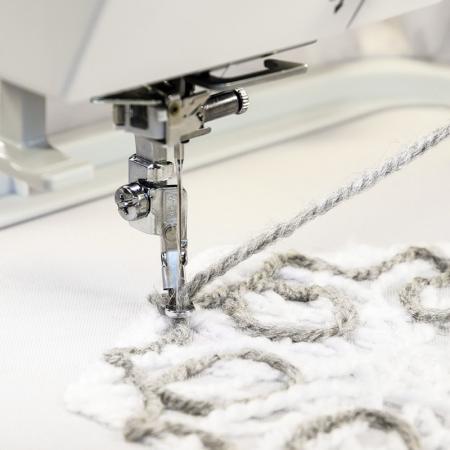 Zestaw do haftowania włóczką do maszyn JANOME MC400E, 500E i ELNA 830ex, fig. 1
