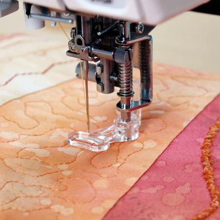 Stopka do pikowania, haftowania i cerowania (do maszyn z szerokością ściegu 9 mm), fig. 1