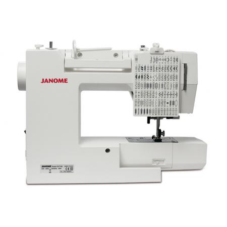 JANOME DC7100, fig. 4