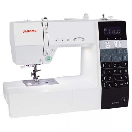 JANOME DC7100, fig. 2