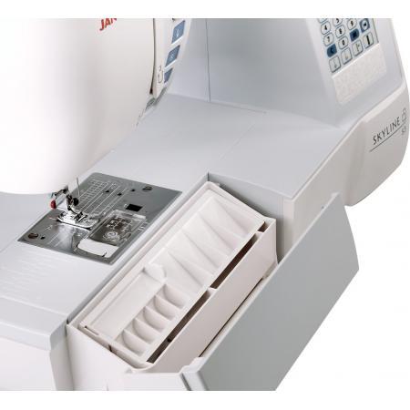 Maszyna do szycia Janome SKYLINE S3 + nici i szpulki GRATIS, fig. 8