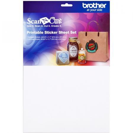 Zestaw materiałów do naklejek do ploterów Brother ScanNcut, fig. 1