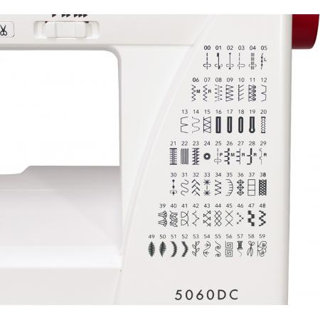 Maszyna do szycia JANOME 5060DC + 3 stopki i igły gratis, fig. 4