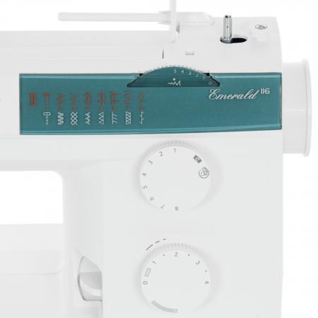 Maszyna do szycia Husqvarna Emerald 116 + szpulki i nici GRATIS, fig. 4