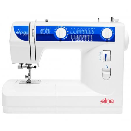 Maszyna do szycia ELNA 220 EX + 3 stopki, nici i szpulki GRATIS, fig. 1