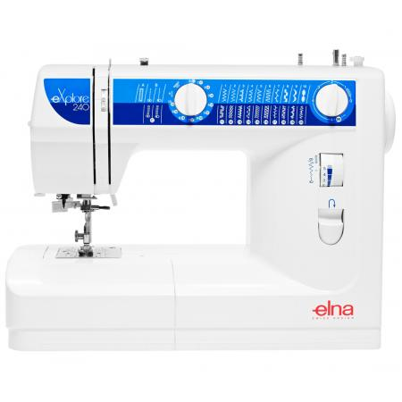 Maszyna do szycia ELNA 240 EX + wykrój, stopki, nici i szpulki gratis, fig. 1