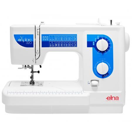 Maszyna do szycia ELNA 320 EX + stopki, nici, szpulki gratis, fig. 1