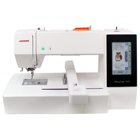 Hafciarka Janome  MC500E + program Janome Digitizer JR, fig. 1