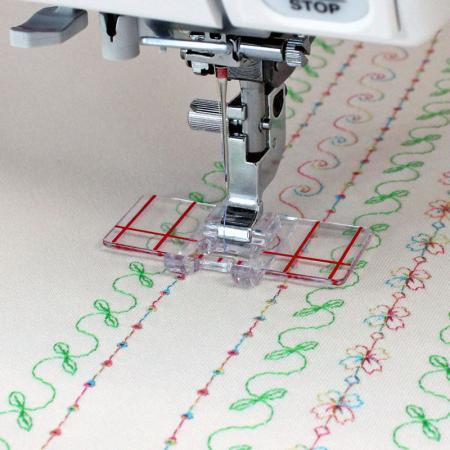 Zestaw 5 stopek Janome do maszyn z szerokością ściegu 9 mm, fig. 3