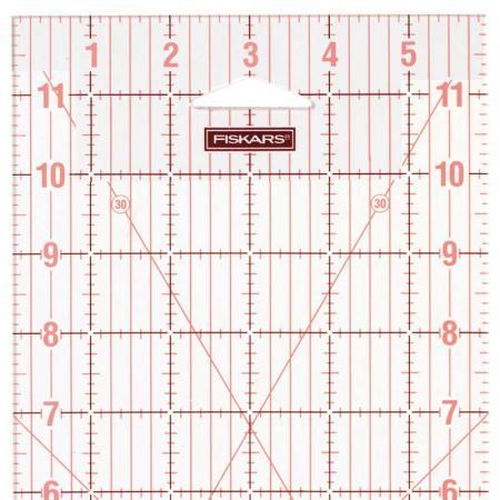 "Linijka do patchworku i quiltingu Fiskars (6 x 12""), fig. 2"