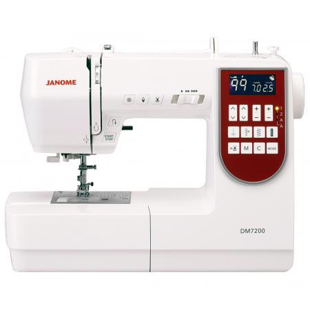Maszyna do szycia JANOME DM7200 + nici i szpulki GRATIS, fig. 1