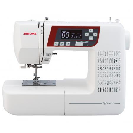 Maszyna do szycia JANOME QXL605 + nici i szpulki GRATIS, fig. 1