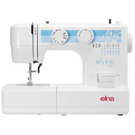Maszyna do szycia ELNA 160 EX + stopki, nici i szpulki gratis, fig. 1