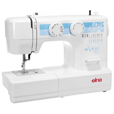 Maszyna do szycia ELNA 160 EX + stopki, nici i szpulki gratis, fig. 2
