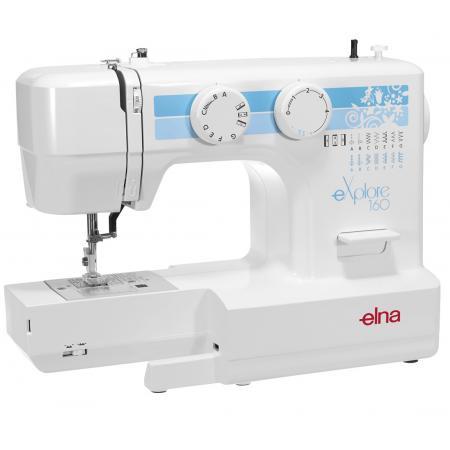 Maszyna do szycia ELNA 160 EX + stopki, nici i szpulki gratis, fig. 3