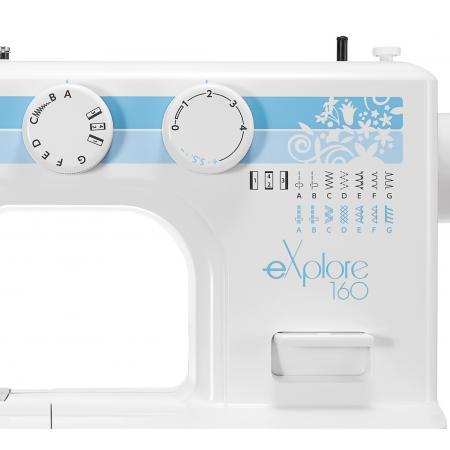 Maszyna do szycia ELNA 160 EX + stopki, nici i szpulki gratis, fig. 4