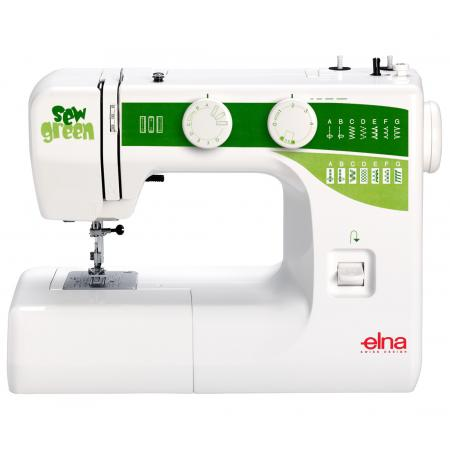 Maszyna do szycia ELNA SEW GREEN + 3 stopki, nici i szpulki gratis!, fig. 1