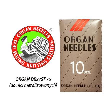 Igły Organ z dużym okiem (75) do hafciarki Janome MB-4S, MB-7, fig. 1