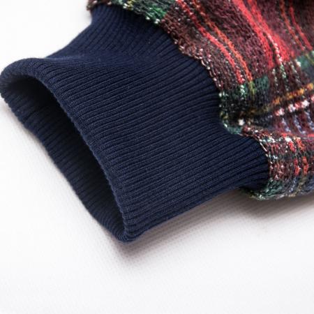 Wykrój na bluzę damską z rękawem raglanowym, fig. 4