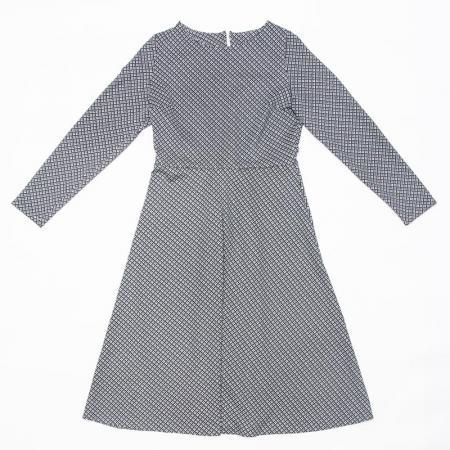 Wykrój na klasyczną, damską sukienkę, fig. 3