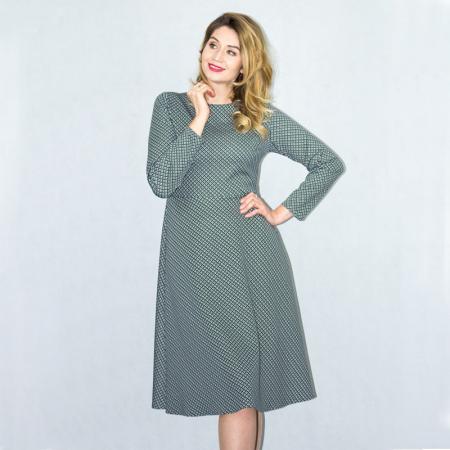 Wykrój na klasyczną, damską sukienkę, fig. 5