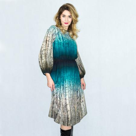 Wykrój na damską sukienkę, fig. 3